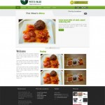 Food Website Portfolio Pearl Like Technology