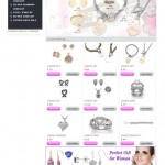 Jewellery Website Design Portfolio Pearl Like