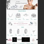 Jewellery Website Design Portfolio