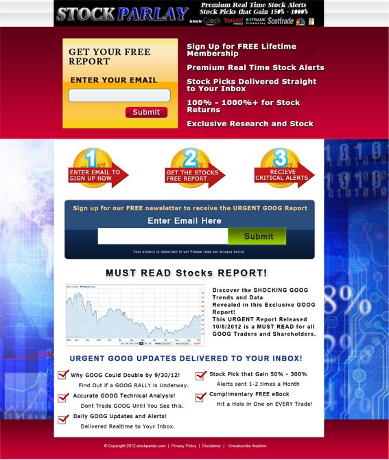 Forex and Stock Market Website Portfolio | Pearl Like Technology
