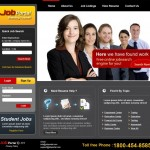 Job Services Websites design portfolio
