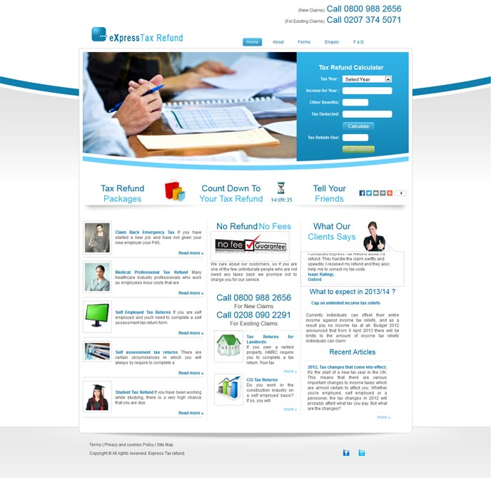 Static Home Page With Dynamic Content